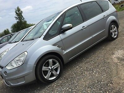 """56 Ford S-Max 2.0 Tdci Titanium **7 Seats, 17"""" Alloys, Panoramic Roof, Privacy**"""