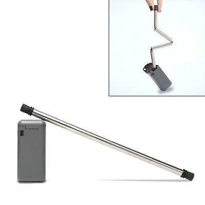 Collapsible Reusable Stainless Steel Straw Portable Travel Outdoor Straws New