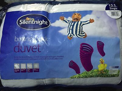 New - Silentnight  13.5 Tog Ultra Bounce Duvet -Single