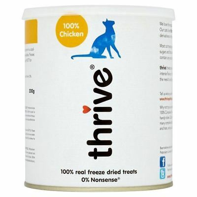 Thrive 100% Chicken Cat Treats MaxiTube 200g (PACK OF 2)