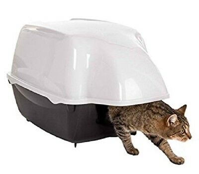 New Ferplast Covered Outdoor Cat Litter Tray