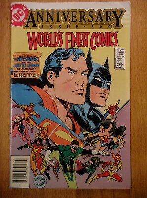 World's Finest Comics #300 (Feb.1984) Outsiders, New Teen Titans, Wolfman/Perez