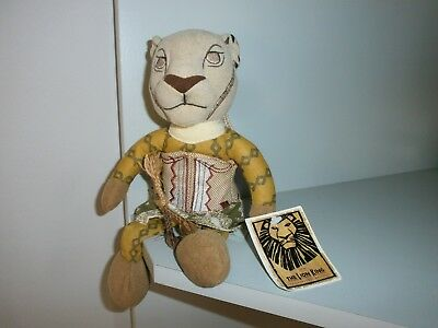 The Lion  King   Nala    The Broadway Musical Soft Toy + Tags