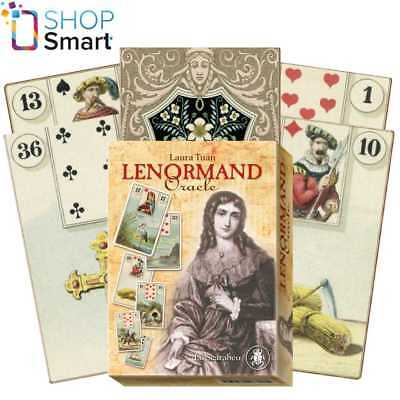 Lenormand Oracle Cards Deck Esoteric Telling Laura Tuan Lo Scarabeo New