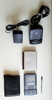 Palm Pilot PDA Tungsten/T M550 with Charging Cradle, Power Supply, Original Case