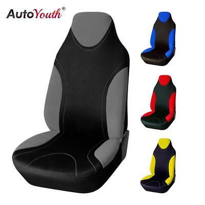 Seat Cover Supports High Back Bucket AUTOYOUTH Car Seat Cover Universal Fits Mos