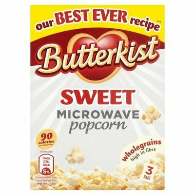 Butterkist Microwave Popcorn Sweet 210g (Pack of 4)
