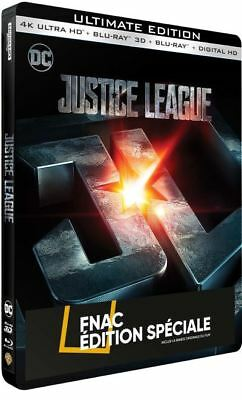 Justice League Edition Spéciale Fnac Steelbook Blu-ray 4K Ultra HD 3D blu-ray