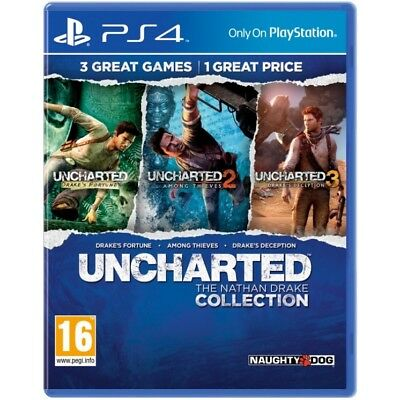 Uncharted The Nathan Drake Collection | PlayStation 4 PS4 New (1)