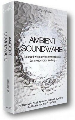 Ambient Soundware ambient atmospheres pads arps textures cinematic Sampples