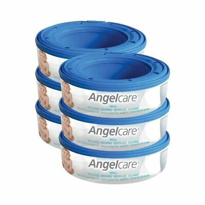 Angelcare Refill Cassettes 6 per pack - Pack of 4
