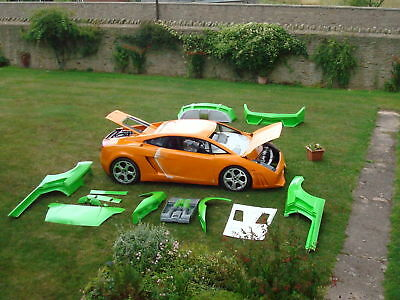Lamborghini Gallardo Kitcar Mr2 Roadster Lambo Replica Wow What A