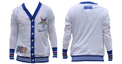 Order of the Eastern Star OES Lightweight Cardigan- Size Medium– New!
