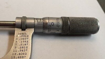 Starrett No.213F 1 - 2 inch outside micrometer