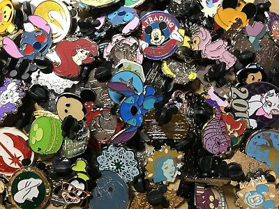 Official Disney Trading Pins Lot Bundle of 10 No Duplicates Random Mix
