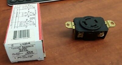 Pass & Seymour L1420-R Turnlok Receptacle 20A, 125/250V