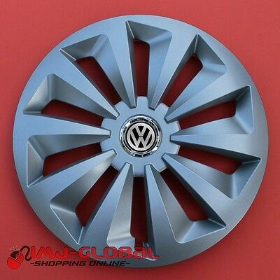 "4 Enjoliveurs 14"" Vw Volkswagen Passat Bora Lupo Golf Up Beetle Foxr"