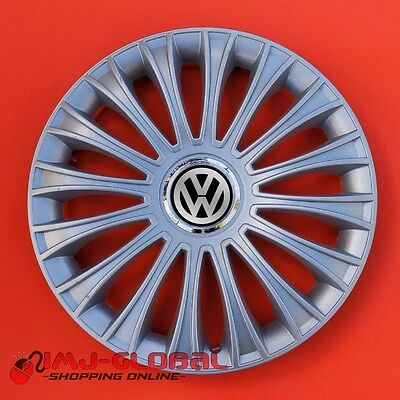 "4 Enjoliveurs 15"" Vw Volkswagen Bora Passat Lupo Golf Dinor"