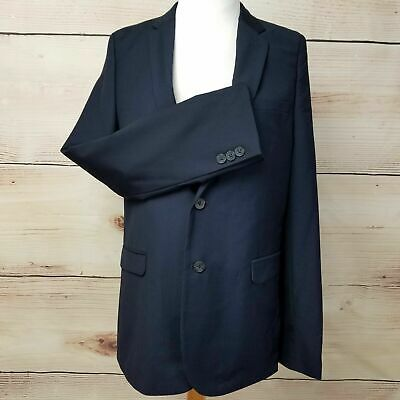 Boys Blazer Jacket 2 Button Youth Navy BLUE Size 12 Event Uniform Wedding NEW