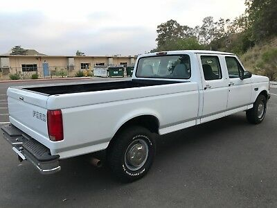 1997 Ford F-350 XL 2007 FORD F350 SUPER CREW CAB PICK UP TRUCK LONG BED 57K ORIGINAL LOW MILES