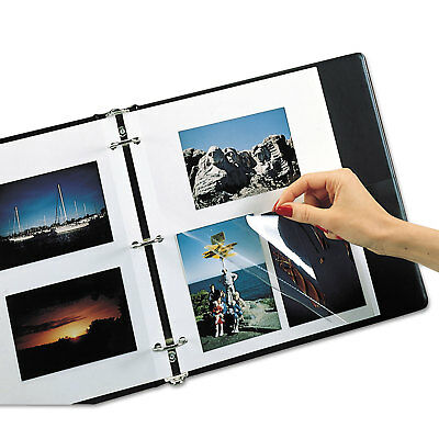 C-Line Redi Mount Photo Mounting Sheets Pages Sleeves 11 x 9 Album Qty. 50