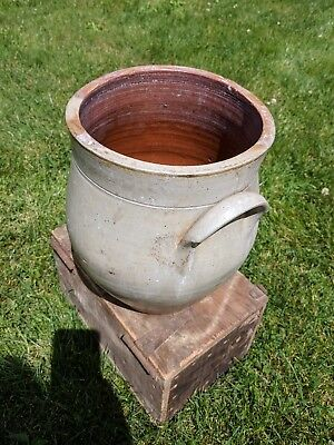 Antique N&a Seymore Rome Stone Crock