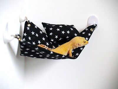 Leopard Gecko Hammock + EXTRAS accessories Hamster Rat Hide House Reptile Mouse