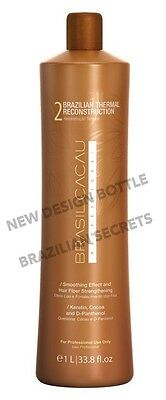 CADIVEU BRASIL CACAU BRAZILIAN KERATIN  SINGLE TREATMENT BOTTLE 34oz 1000ml