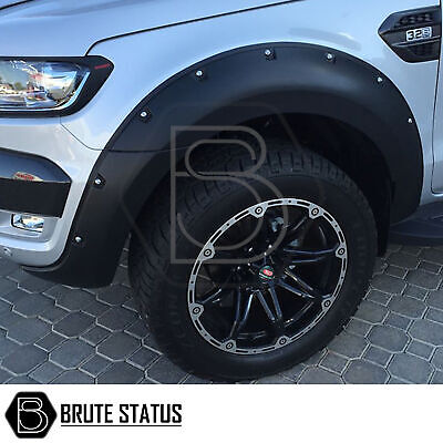 Ford Ranger 2015-18 Wide Body Wheel Arches Fender Flares T6