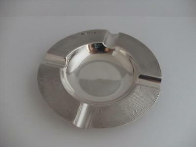SOLID SILVER ASHTRAY London 1967