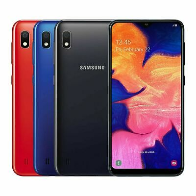 Samsung Galaxy A10 A105G/Ds 32Gb Ds/Ss Black/Blue/Red Factory Unlocked Brand New