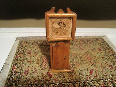 Grandfather Clock 1:12 scale dollhouse miniature #3