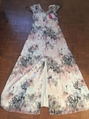 Little Mistress Tall Maxi Dress Size 12 Stunning BNWT WEDDING RACES CHRISTENING