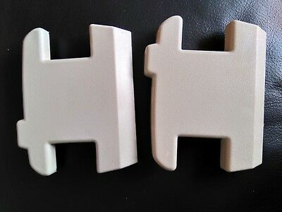 minivator 950 stairlift rail end caps (top and bottom)