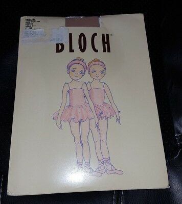 Bloch Endura Footed Tights 4 5 T0921G Lt Light Tan Dance Children Youth New