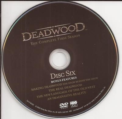 Deadwood (DVD) HBO Season 1 Disc 6 (DVD) Replacement Disc U.S. Issue Disc Only!
