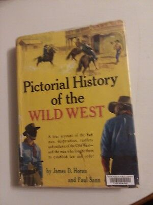 Pictorial History Of The Wild West James Horan Coffee Table Book