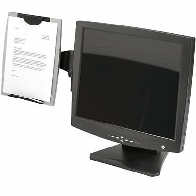 FellowesR Office Suites Monitor Mount Copyholder, Black/Silver