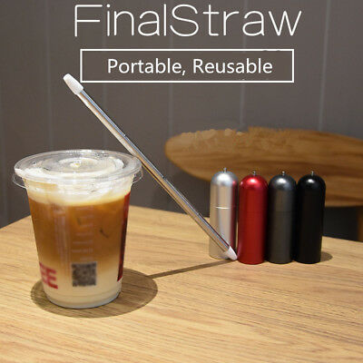 Collapsible Reusable Portable Final Straw Stainless Steel Drinking Suction Pipe