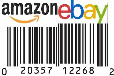 1,000 UPC Numbers Barcode Bar Code GS1 EAN Amazon Lifetime Guarantee