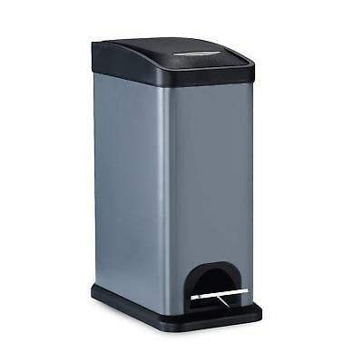 Malmo Stainless Steel Trash Can with Lids for Kitchen Bathroom Office, Removable
