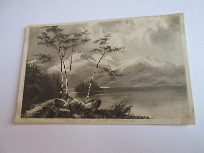 Postcard of Early Snow, Loch Katrine (Unposted)