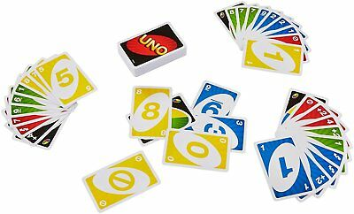 Mattel UNO card Game with WILD CARD