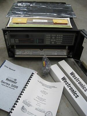 NEW Westronics 3200 Chart Recorder Thermo Electron Multipoint 48 Inputs & Extras
