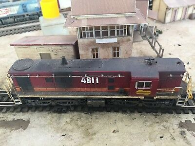 Trainorama Ho 48 Class Running Number 4811 Diesel Electric Locomotive