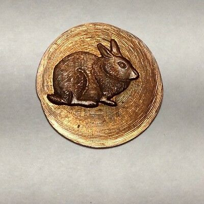 Rabbit On A 1970 Lincoln Cent