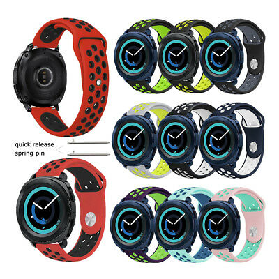 Replacement Silicone Wrist Watch Band Strap For Samsung Gear Sport Wristband