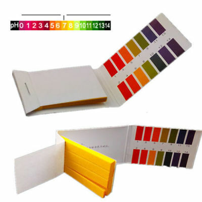 160 pH Indicator Test Strips 1-14 Litmus Tester Paper Water Litmu Soil Lab GT