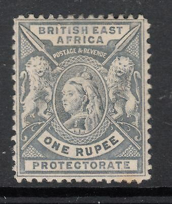 BRITISH EAST AFRICA SG 92 1 Rupee Queen Victoria  MINT LIGHT HINGED