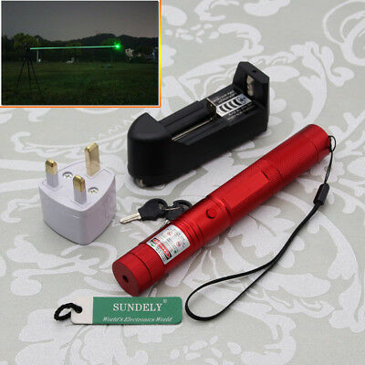 High quality 303 Green Laser Pointer Pen Adjustable Focus 532nm Lazer Power